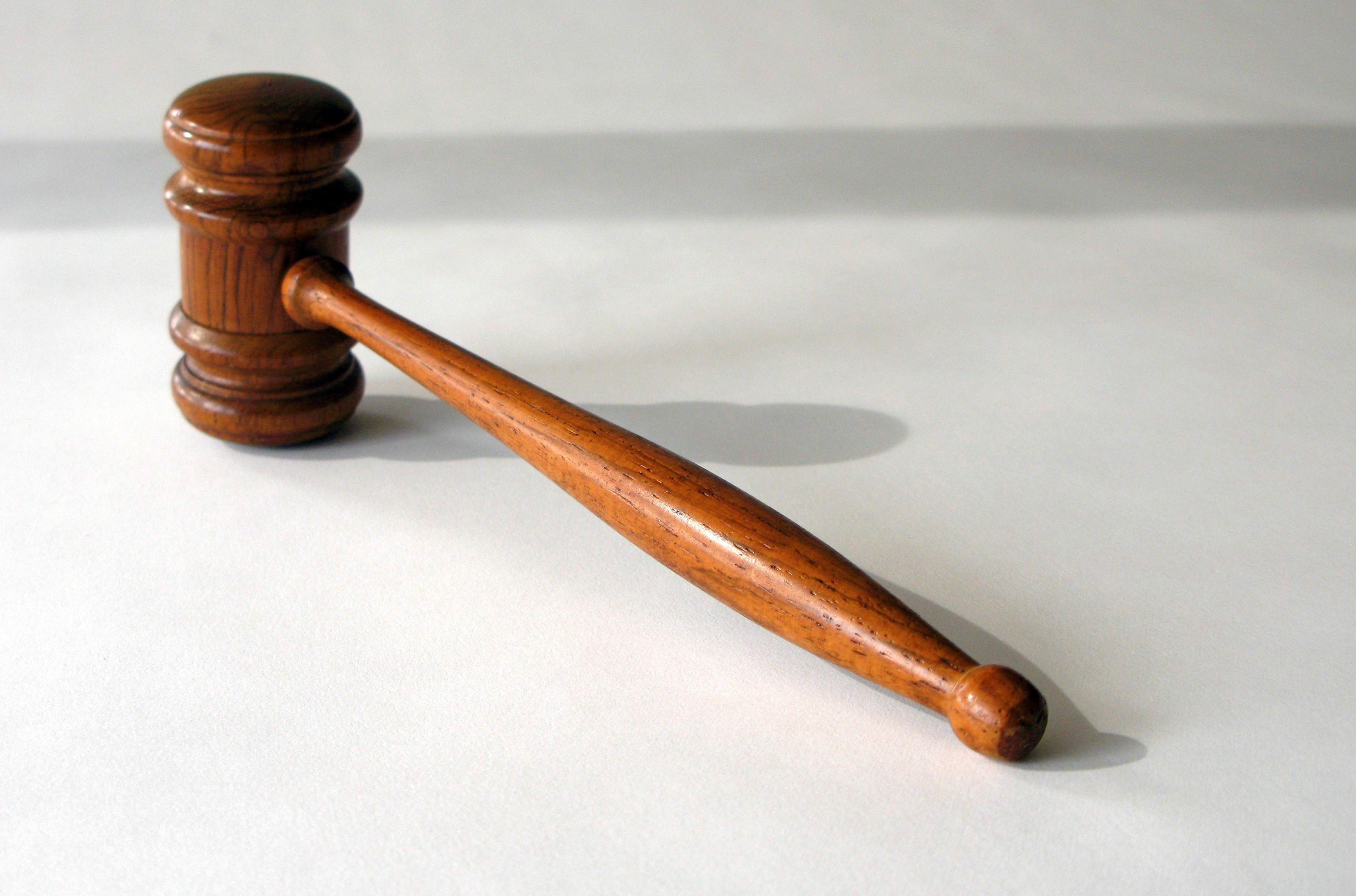 Jury Instructions Gavel for Personal Injury