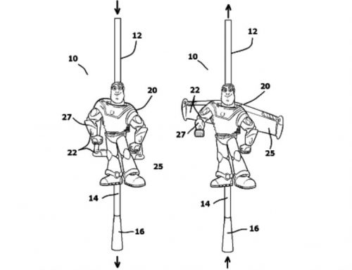 Buzz Lighter Year Straw Patent