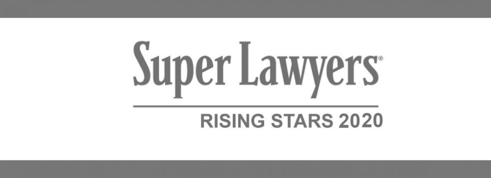 Super Lawyers Rising Stars 2020